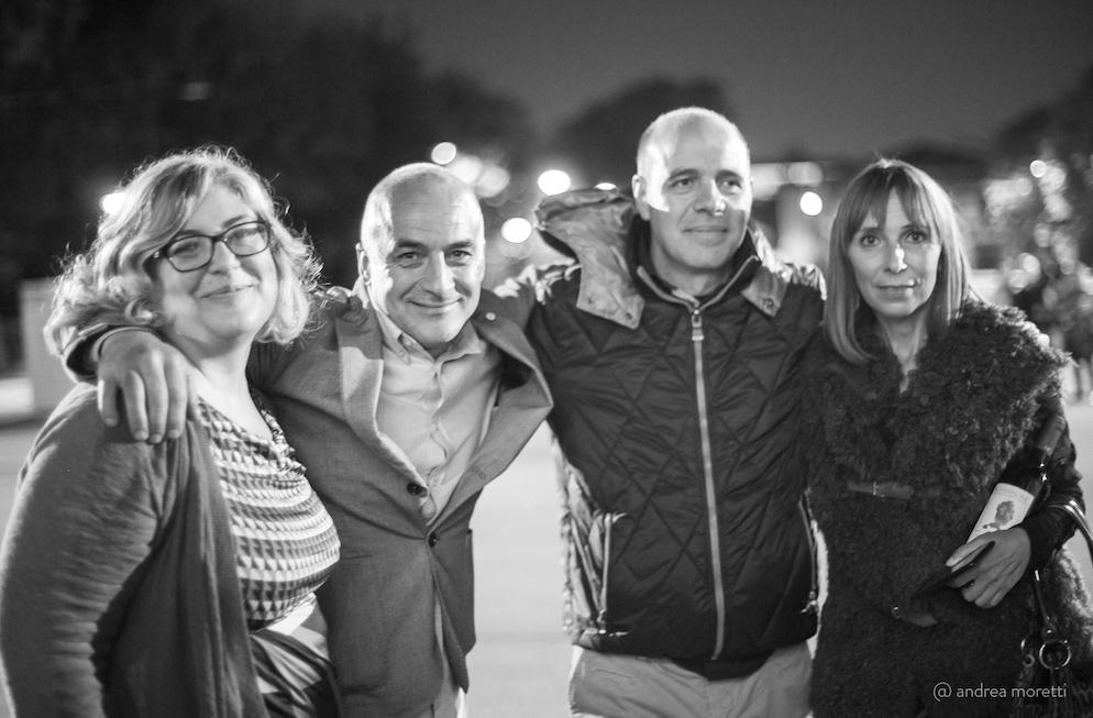 Io, Giovanni Montisci, Francesco Sedilesu e Giovanna Maccario - Photo by @andreamoretti