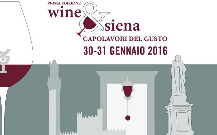 Wine&Siena 30/31 gennaio – Save the Date