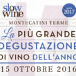 Presentazione della Guida Slow Wine 2017 – 15 ottobre a Montecatini Terme