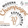 Modena Champagne Experience 8-9 ottobre 2017